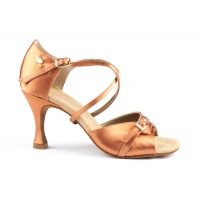 Portdance PD636 Premium lichte huidskleur dansschoenen voor latin en salsa