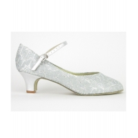 So Danca Dansschoenen BL116S Sparkle Silver